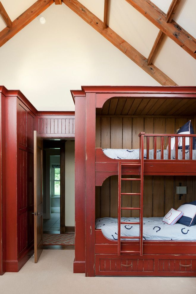 Grandview Heights Schools for a Rustic Kids with a Shared Bedroom and Projects by Snake River Interiors