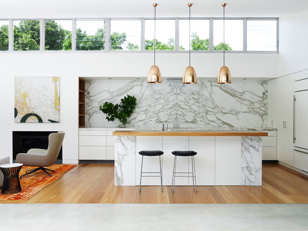 Granite Run Gmc for a Contemporary Kitchen with a Entertaining and Pavilion House by Arent & Pyke