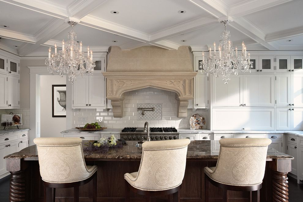 Granite Run Gmc for a Traditional Kitchen with a Coffered Ceiling and Historic St. Paul Kitchen and Mudroom Addition/renovation by John Kraemer & Sons