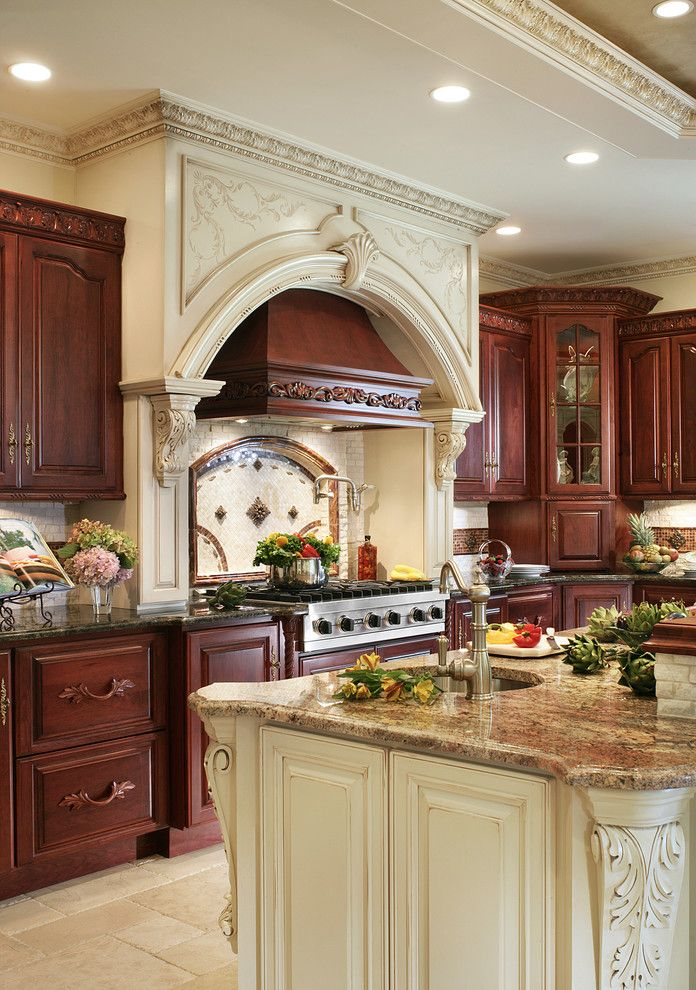 Granite Run Gmc for a Traditional Kitchen with a Decorative Backsplash and Whole House Renovation by Creative Design Construction, Inc.