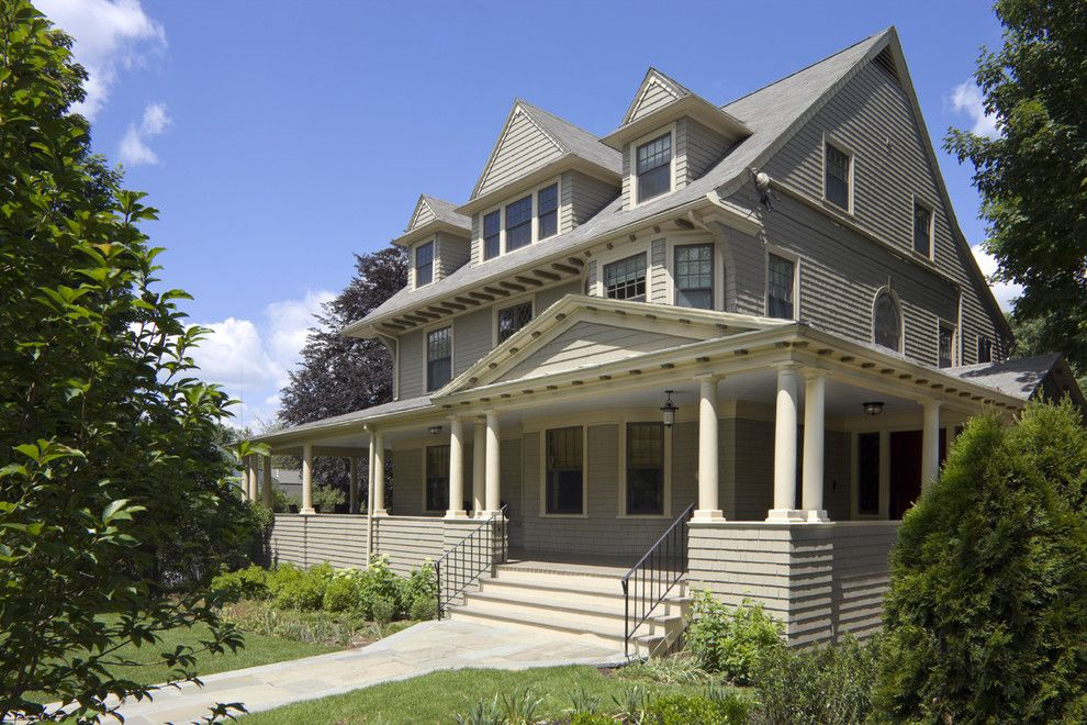 Greek Revival Homes for a Victorian Exterior with a Bay Window and This Old House by Lda Architecture & Interiors
