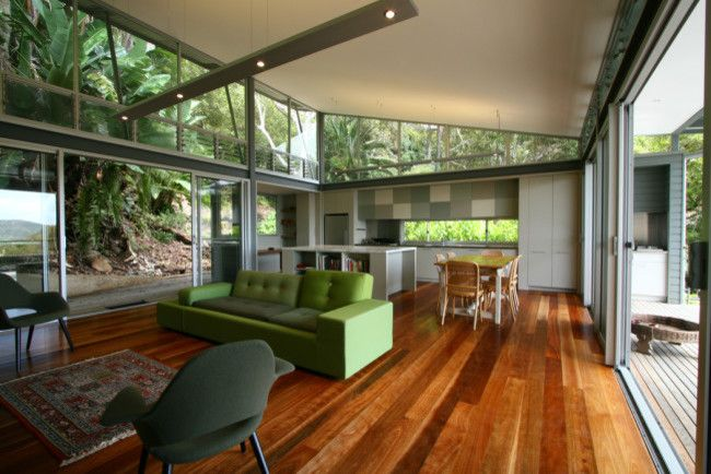 Greenhouse Denton for a Contemporary Living Room with a Contemporary and Greenhouse Living at Palm Beach by Tanner Kibble Denton Architects by Designhunter