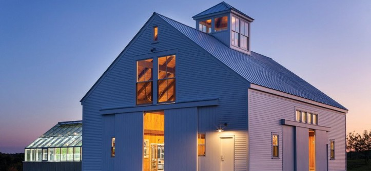 Greenhouse Denton for a Farmhouse Exterior with a Outdoor Lighting and BERKSHIRE FARMHOUSE by Marvin Windows and Doors