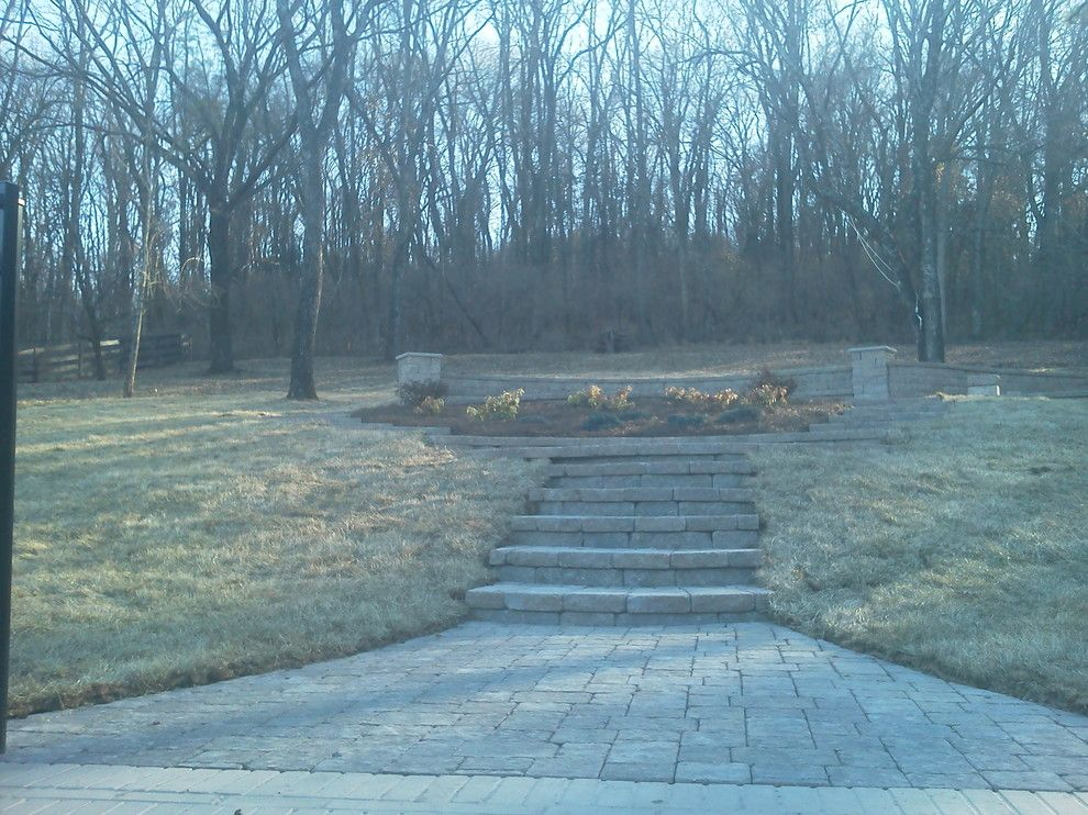 Greenleaf Landscaping for a  Spaces with a Firepit and Outdoor Living Space, Nashville, Tn by Greenleaf Landscapes Llc