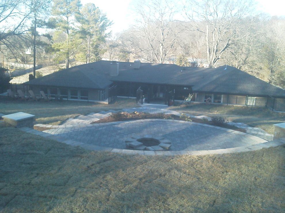 Greenleaf Landscaping for a  Spaces with a Paver and Outdoor Living Space, Nashville, Tn by Greenleaf Landscapes Llc