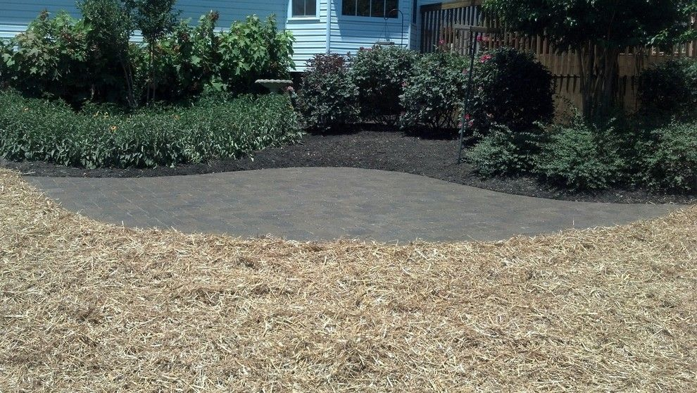 Greenleaf Landscaping for a  Spaces with a Paver and Paver Patio, Burns, Tn by Greenleaf Landscapes Llc