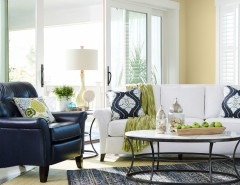 Greenstone Homes for a Traditional Living Room with a Accent Pillows and La-Z-Boy by La-Z-Boy