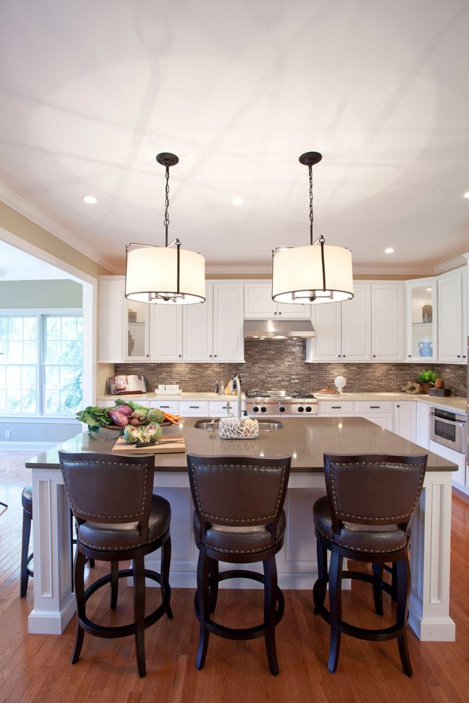 Grimesland Nc for a Transitional Kitchen with a Range Hoods and Loftus Design by Jim Schmid Photography
