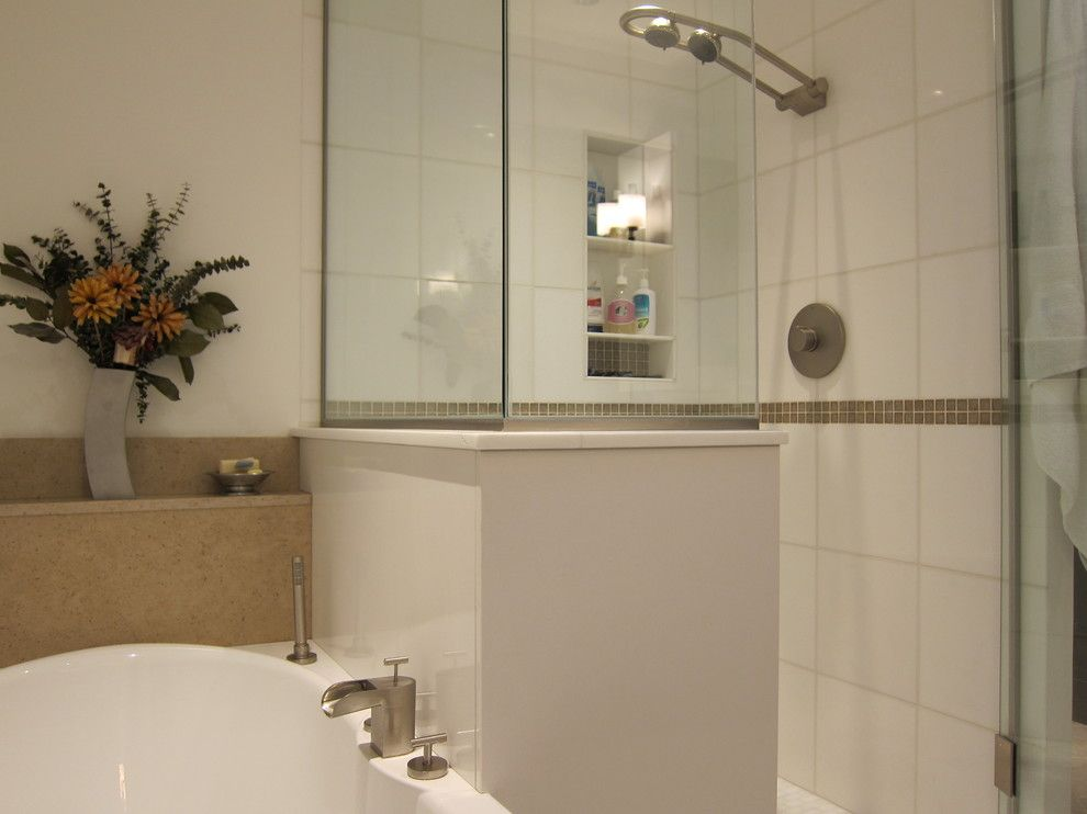 Gtup240emww for a Contemporary Bathroom with a Contemporary and 240 Master by Claudia Barber