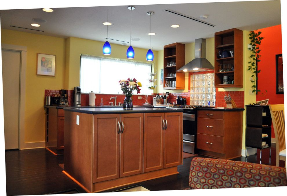 Habitat for Humanity Charlottesville for a Eclectic Kitchen with a Energy Star Appliances and Playhouse on Broadway by Harris Welker Architects