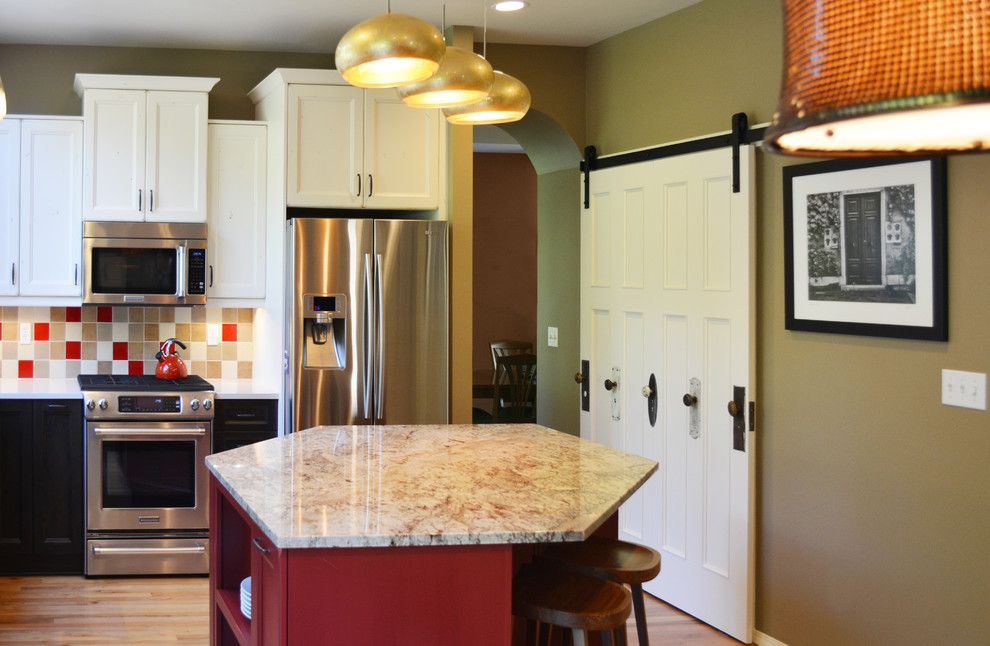 Habitat for Humanity Seattle for a Eclectic Kitchen with a Brett Marlo and Newcastle Kitchen Remodel by Brett Marlo Design Build