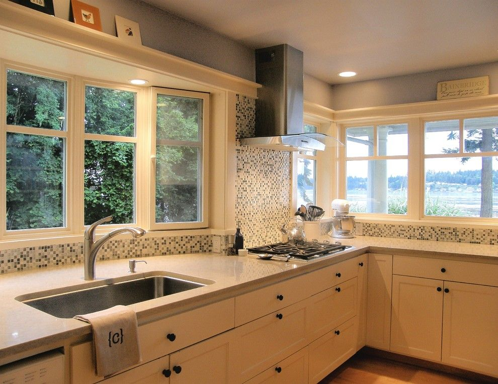 Habitat for Humanity Seattle for a Traditional Kitchen with a Kitchen and Kitchen Remodel- Bainbridge Island by Domain Design Architects