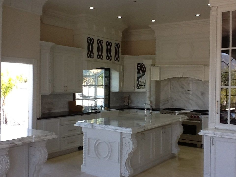 Hahn Appliance Warehouse for a Contemporary Kitchen with a White Cabinets and Custom Kitchen Cabinets by Northridge Cabinet Warehouse