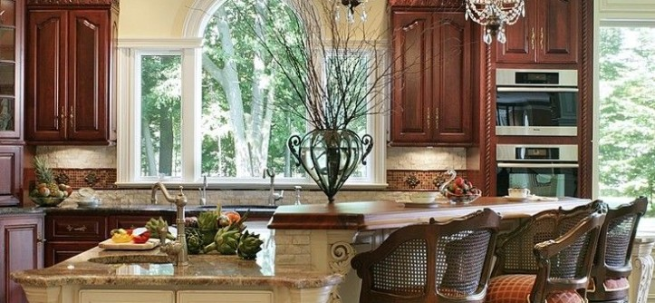 Hanks Fine Furniture for a Traditional Kitchen with a Ornate Molding and Whole House Renovation by Creative Design Construction, Inc.