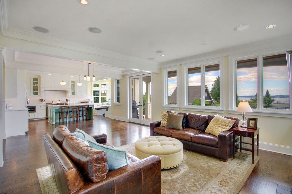 Harmony Homes Las Vegas for a Traditional Living Room with a Counter Seats and Kirkland Traditional by Rw Anderson Homes
