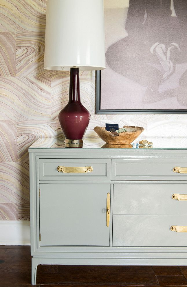Harrisburg Symphony for a Modern Bedroom with a Kensington and Harrisburg Symphony Showhouse Mbr by Karen Viscito Interiors