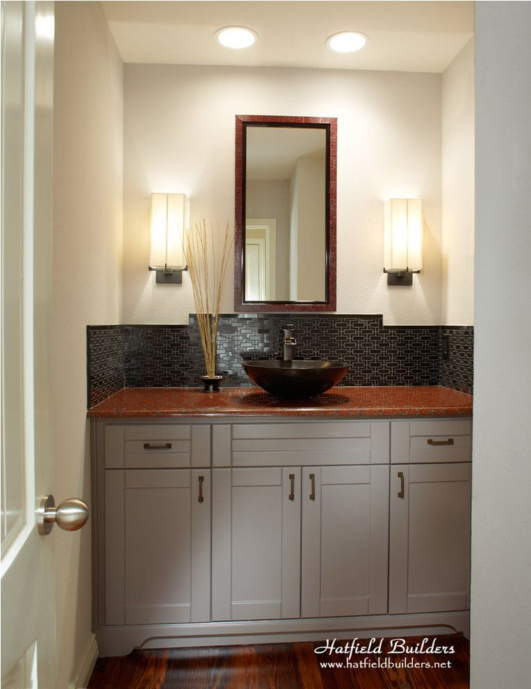 Hatfield Pool for a Modern Bathroom with a Shaker and Dartbrook by Hatfield Builders & Remodelers