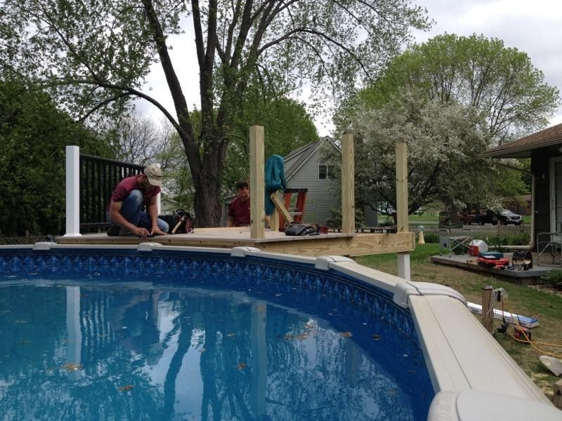 Hatfield Pool for a Traditional Pool with a Deck and Pool Deck Hatfield by Paradis Remodeling & Building, Llc