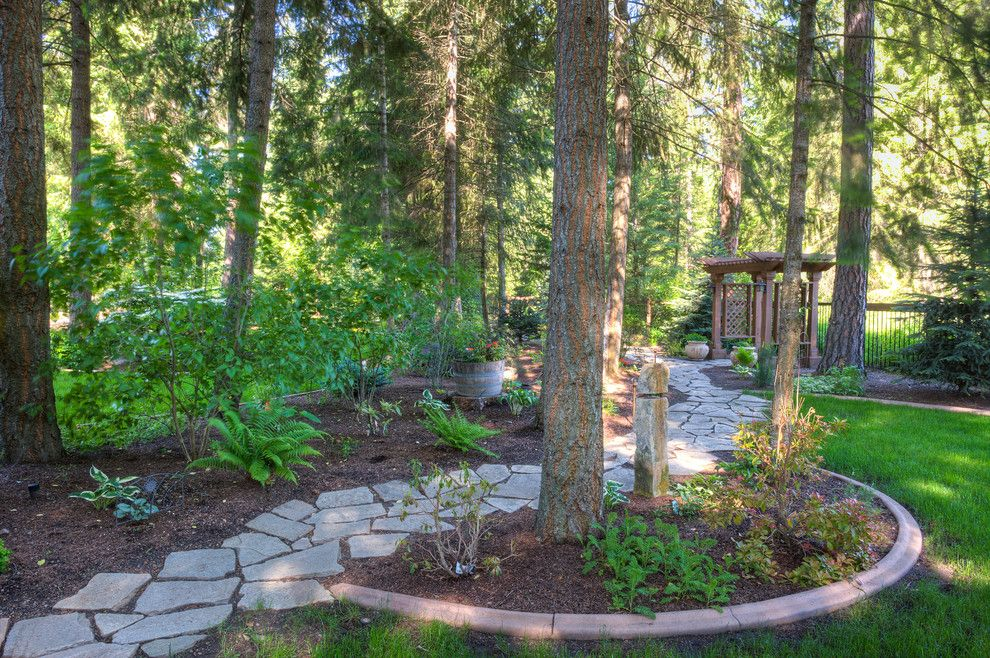 Havenly for a Traditional Landscape with a Path and Hayden Haven by Clearwater Summit Group