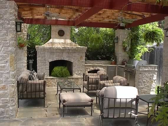 Haynes Furniture Richmond Va for a Traditional Patio with a Outdoor Kitchen and Outdoor Kitchen with Fire Pit and Furniture by Campbell & Ferrara