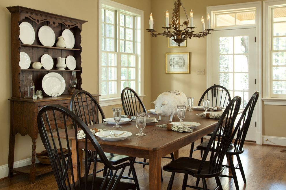 Haynes Furniture Richmond Va for a Traditional Spaces with a Dining Room and River Road Corridor Addition and Complete Home Renovation by Carnes Home Builders
