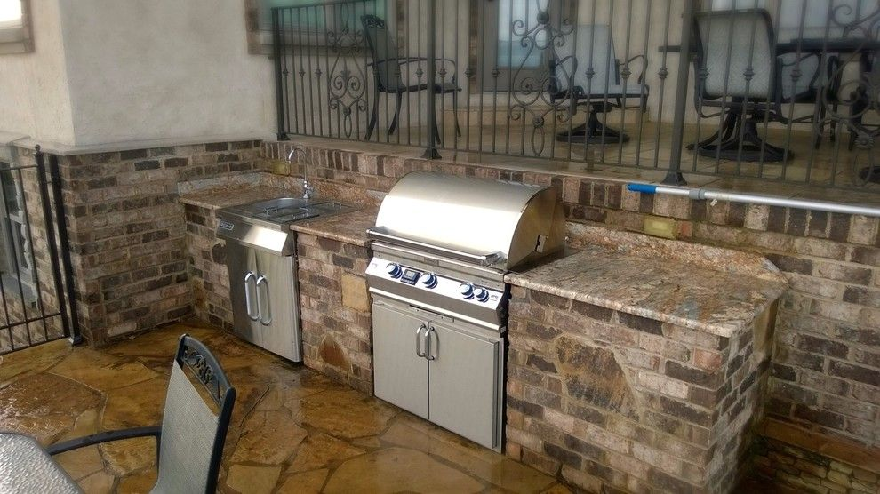 Hearth and Grill for a Traditional Spaces with a Gas Grills and Southern Hearth & Patio's Outdoor Kitchens in Chattanooga by Southern Hearth & Patio