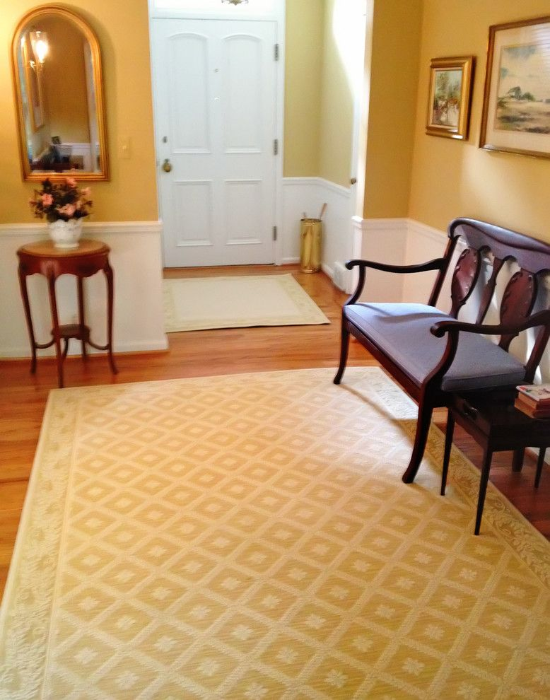 Helping Hands Richmond for a Traditional Entry with a Traditional Area Rug and Wilton Rugs by Rug Rats