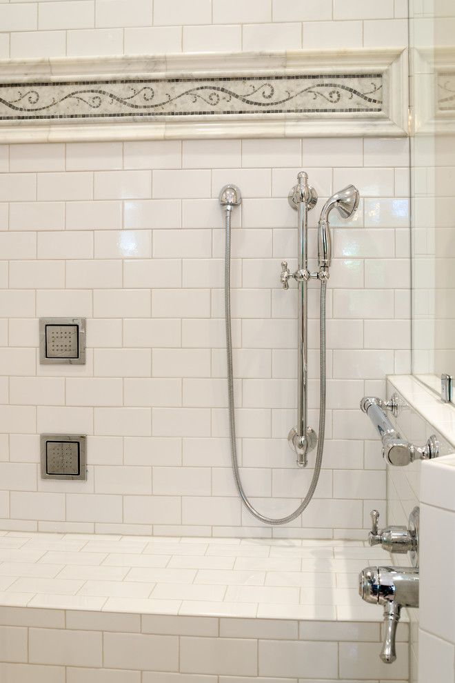 Helping Hands Richmond for a Transitional Bathroom with a Large Shower and Dw Master Bath Suite by Jennifer Duncan, Ckd