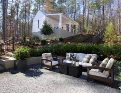 Hgtv Designers for a Transitional Landscape with a Hedges and 2012 HGTV Green Home by Kemp Hall Studio