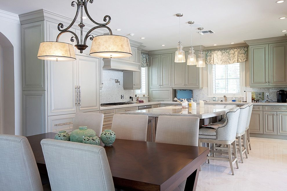 Hibachi Grill Miami for a Traditional Kitchen with a Bermuda Roof and Estate Home by Mouw Associates, Inc