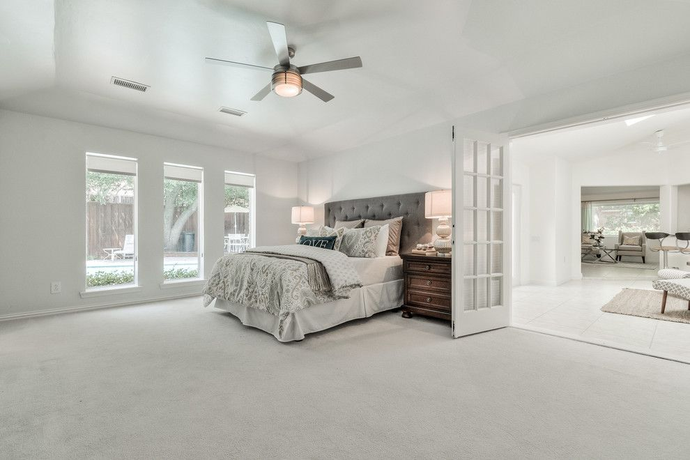 Highland Lakes Nj for a Contemporary Bedroom with a Vacant Home Staging and Vacant Home Staging   Arborside, Lake Highlands by Design by Keti