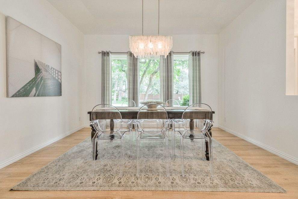 Highland Lakes Nj for a Contemporary Dining Room with a Dallas Home Stager and Vacant Home Staging   Arborside, Lake Highlands by Design by Keti