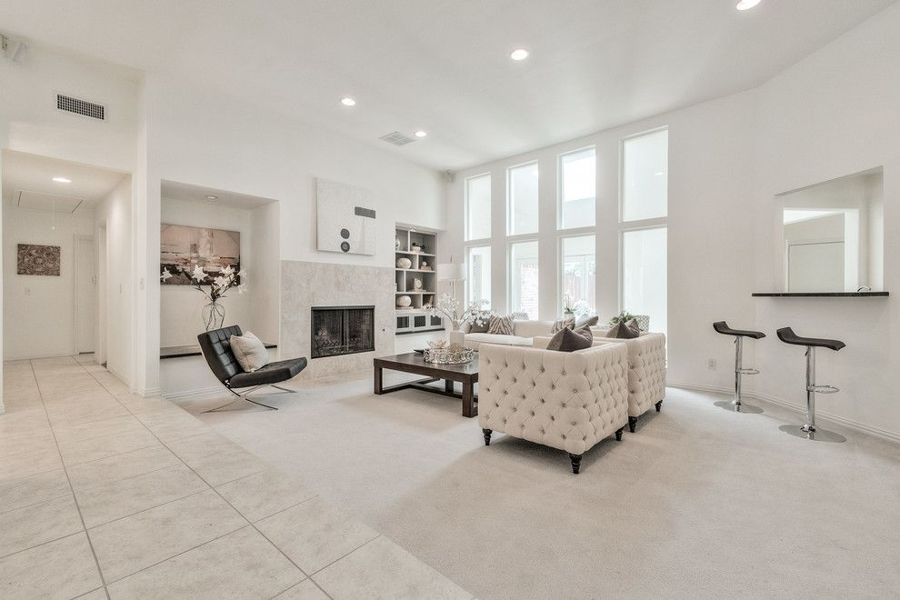 Highland Lakes Nj for a Contemporary Living Room with a Vacant Home Staging and Vacant Home Staging   Arborside, Lake Highlands by Design by Keti