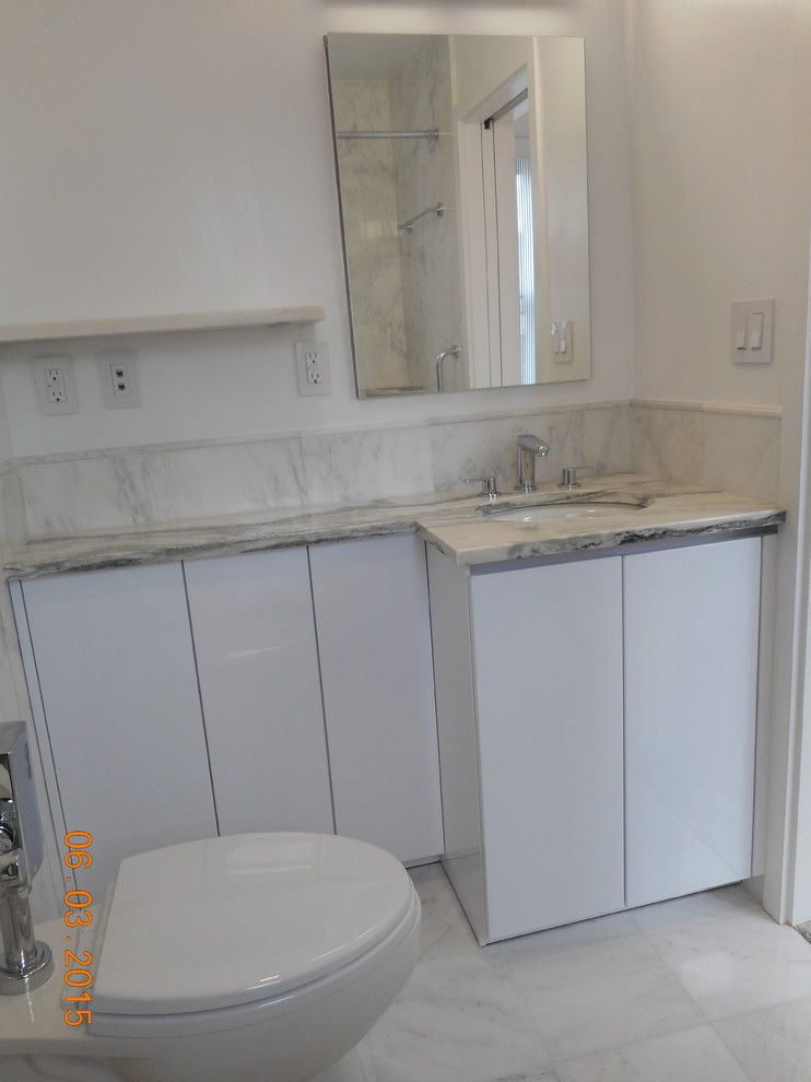 Highline Auto Sales for a Modern Bathroom with a Alno Starline and Down Town East Side Project by Retail Sales Manager / Designer / ALNO New York