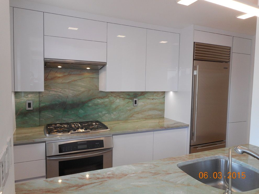 Highline Auto Sales for a Modern Kitchen with a Alno and Down Town East Side Project by Retail Sales Manager / Designer / Alno New York