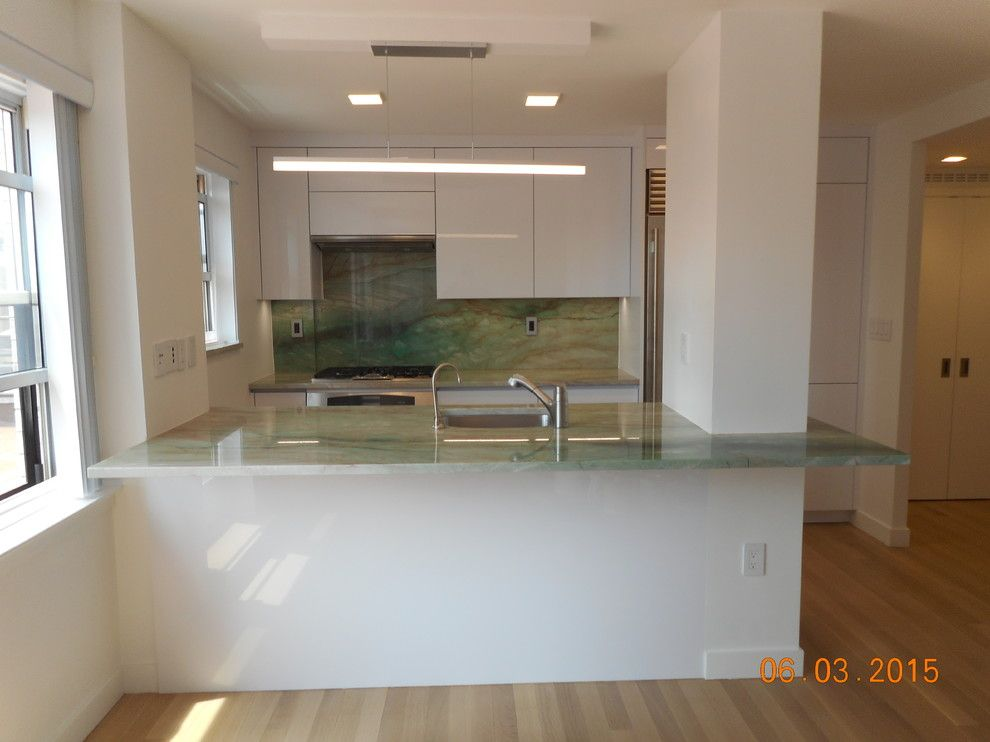 Highline Auto Sales for a Modern Kitchen with a Alnostar and Down Town East Side Project by Retail Sales Manager / Designer / Alno New York