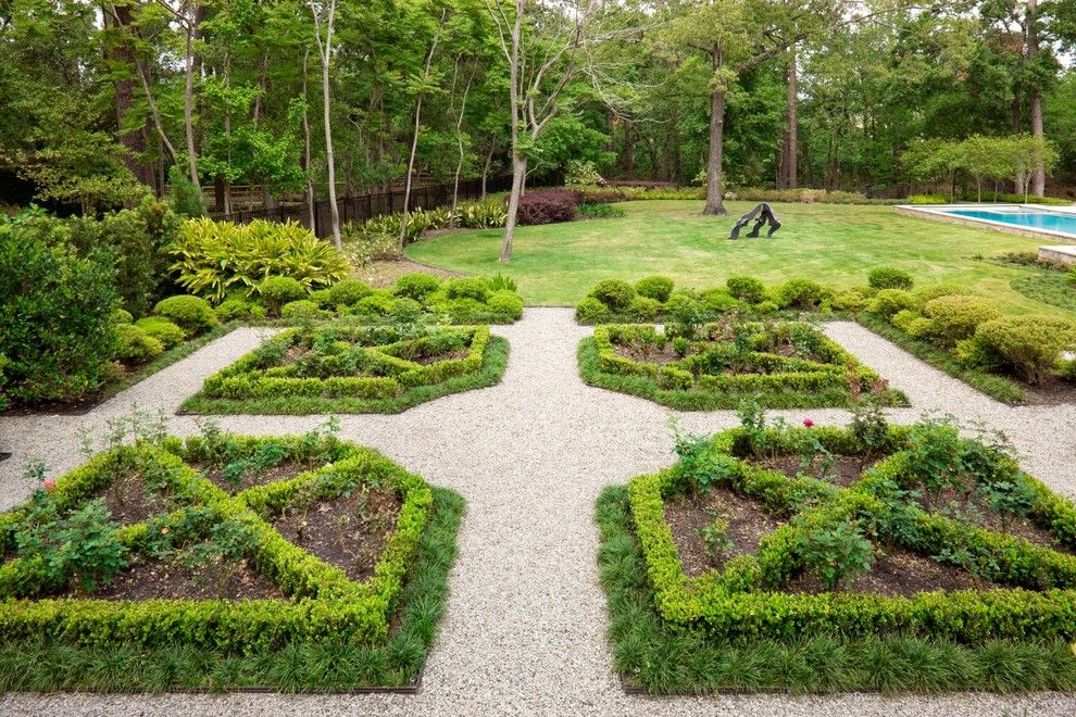 Hilliard Lawn and Garden for a Mediterranean Landscape with a Symmetry and Mediterranean Garden by Exterior Worlds Landscaping & Design