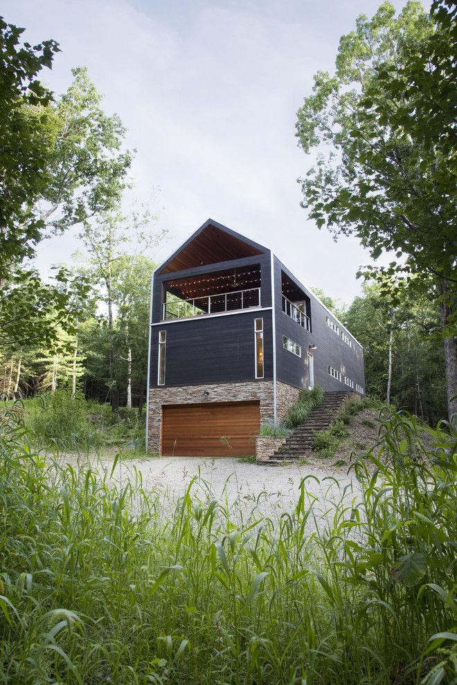 Hillmeade Apartments for a Contemporary Exterior with a Barn and Country Crib by Actual Size Projects