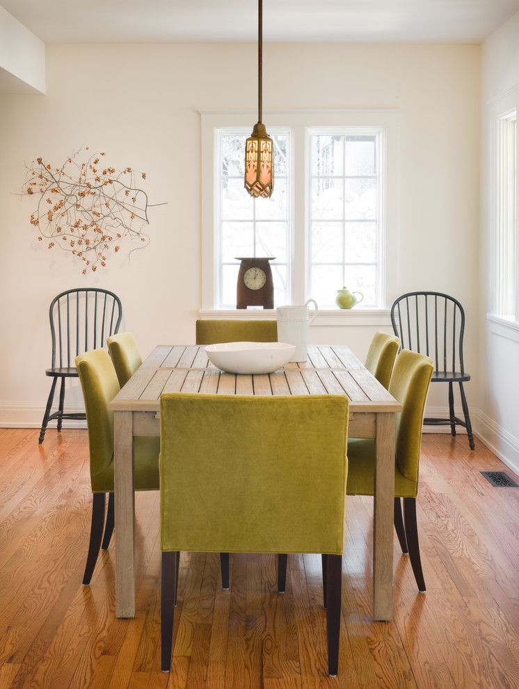 Hilton Garden Inn Windsor Ct for a Traditional Dining Room with a Hardwood Floors and a Light Grace by Orion Design, Inc.