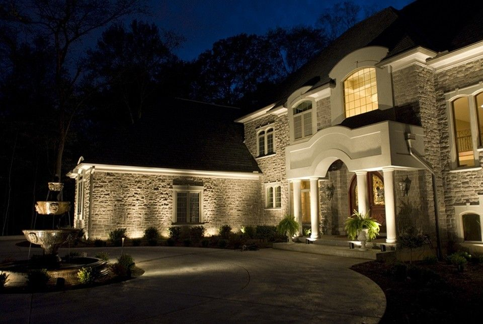 Hilton Head Lighthouse for a Contemporary Exterior with a Outdoor Lighting and Landscape Lighting   National Project by Lighthouse Outdoor Lighting   Savannah/hilton Head
