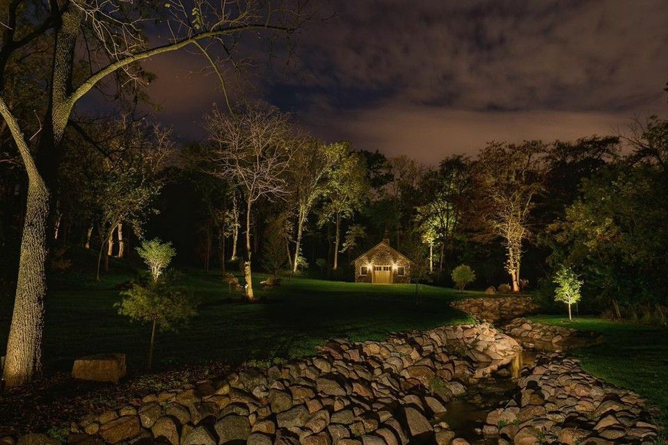 Hilton Head Lighthouse for a Contemporary Landscape with a Outdoors Lighting and Architectural Lighting   National Project by Lighthouse Outdoor Lighting   Savannah/hilton Head