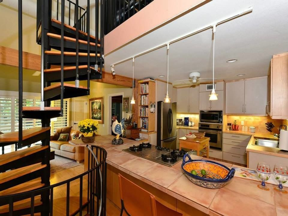 Hindu Temple Tampa for a Eclectic Kitchen with a Eclectic and Temple Street by Richard G Allen, Architects, Inc