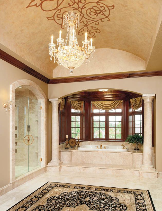 Hite Electric for a Traditional Bathroom with a Master Suite and Fit for a King and Queen by Housetrends Magazine