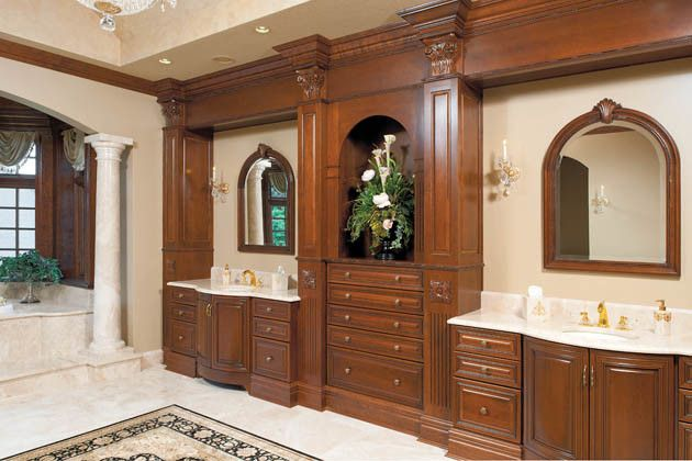 Hite Electric for a Traditional Bathroom with a Media Room and Fit for a King and Queen by Housetrends Magazine