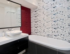 Hob Knob for a Contemporary Bathroom with a Bath Hob and Yarra Boulevard, Richmond by Key Piece