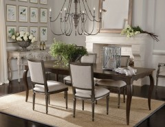 Hobby Lobby Orlando for a Traditional Dining Room with a Gallery Wall and Ethan Allen by Ethan Allen