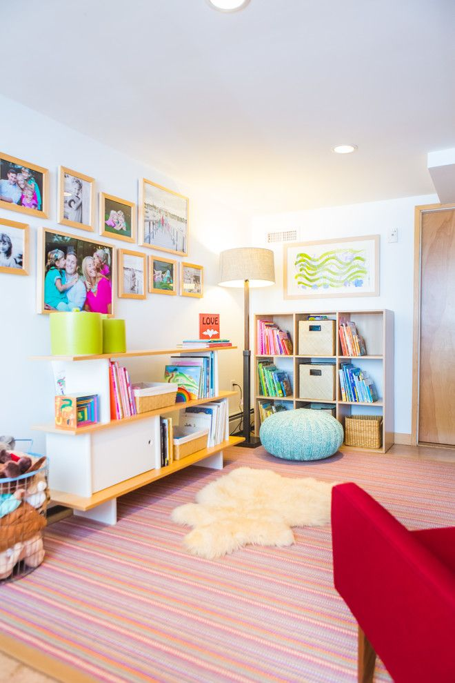 Holy Lamb Organics for a Contemporary Kids with a Blue and Marblehead Residence by North Fork Design Co.