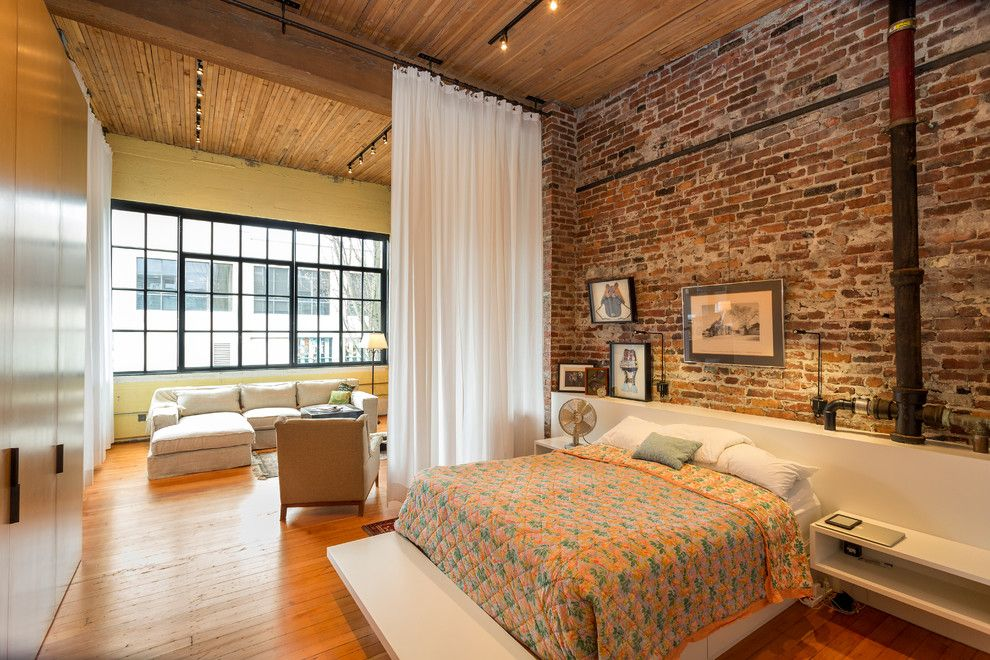 Home Decor Liquidators for a Industrial Bedroom with a Bedroom Furniture and Urban Loft by Crescent Builds