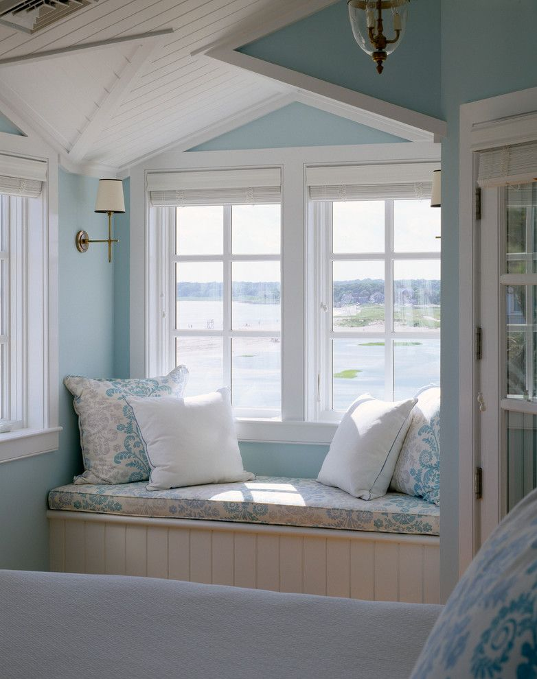 Home Depot Ashburn for a Traditional Bedroom with a Window Seat and Bedroom by Polhemus Savery Dasilva