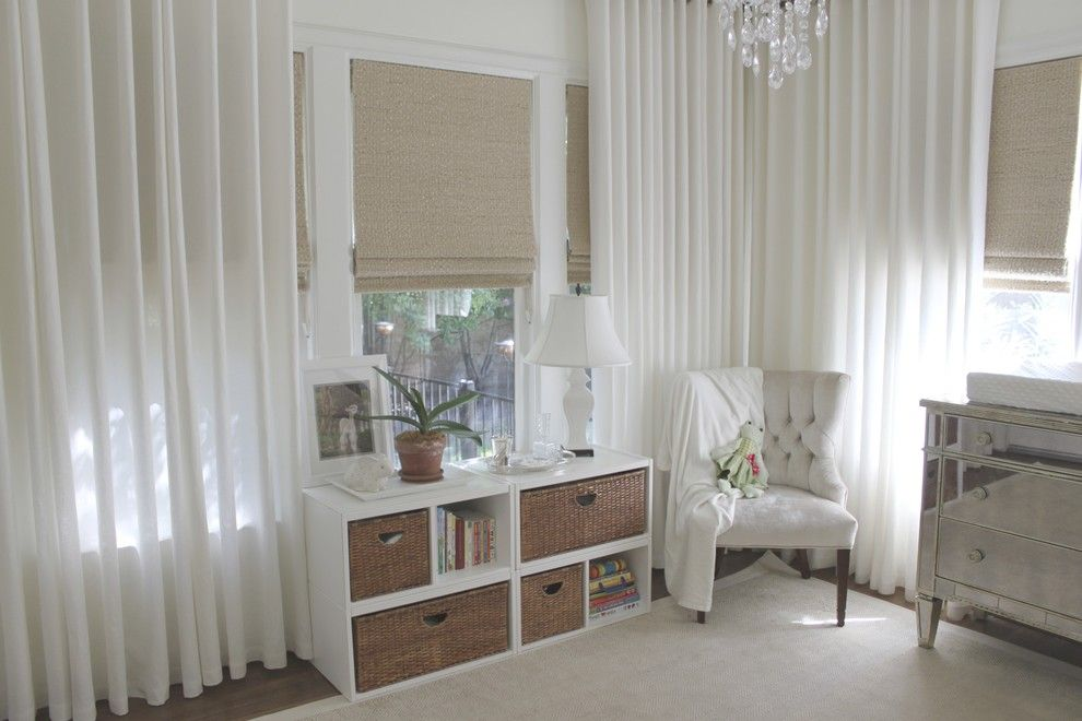 Home Depot Ashburn for a Traditional Nursery with a Bookcase and Pearson's Room by Amy Lambert Lee